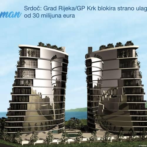 Fiuman.hr – Srdoč: Grad Rijeka/GP Krk blokira strano ulaganje od 30 milijuna eura
